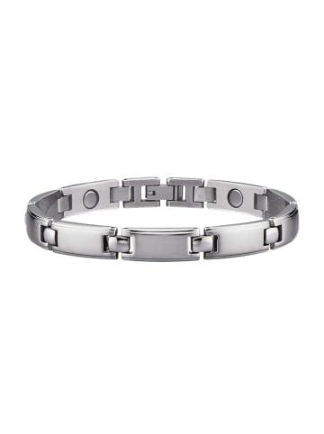 Magnetic Balance Armband, Edelstahl in Silberfarben