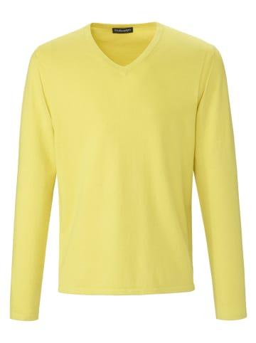LOUIS SAYN Pullover V-Pullover in gelb