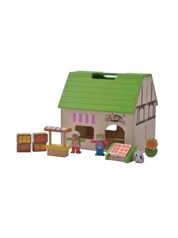 EverEarth Bio-Laden Puppenhaus in Bunt