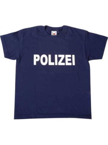 Eduplay T-Shirt Polizei dunkelblau