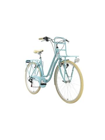 KS CYCLING Damenfahrrad Cityrad 28'' Swan 6Gänge in blau