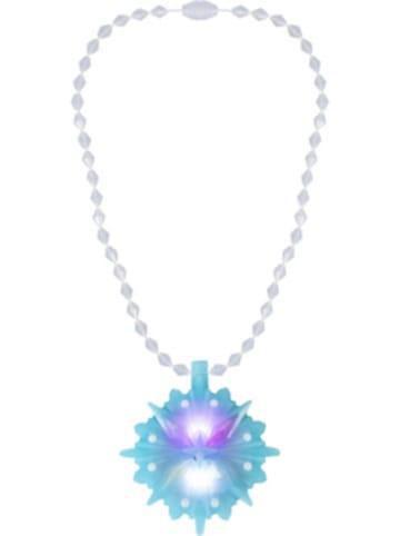 Jakks Pacific Dis Eiskönigin 2 Elsa HalsketteEiskristall mit Light & Sound