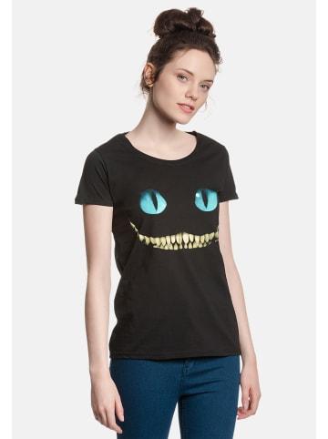 Disney Alice in Wonderland  T-Shirt Smile in schwarz