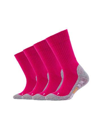 Camano Sportsocken in pink