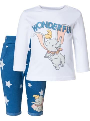 Disney Dumbo Disney Dumbo Baby Set Langarmshirt + Sweathose