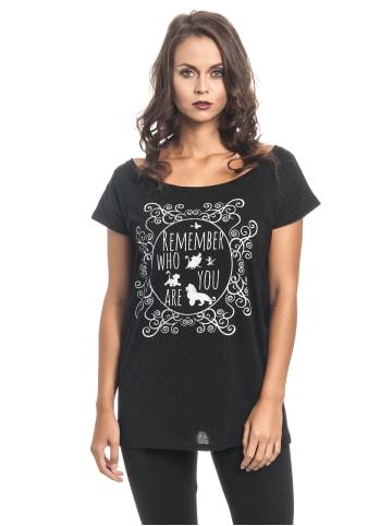 Disney König der Löwen Loose-Shirt Remember Who You Are Girl Loose in schwarz