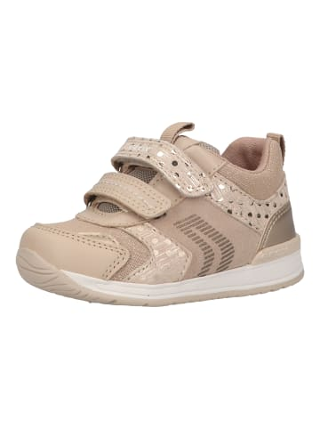 Geox Sneaker in Beige/Gold