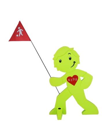 StreetBuddy StreetBuddy Warnfigur für Kindersicherheit in Grün