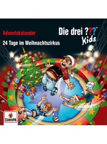 Sony CD-Box Die drei ??? Kids Adventskalender 24 Tage Weihnachtszirkus (2 CDs)