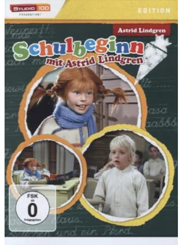 LEONINE Distribution Schulbeginn mit Astrid Lindgren, 1 DVD