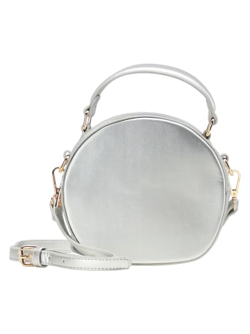 MyMo at night Abendtasche in Silber Metallic