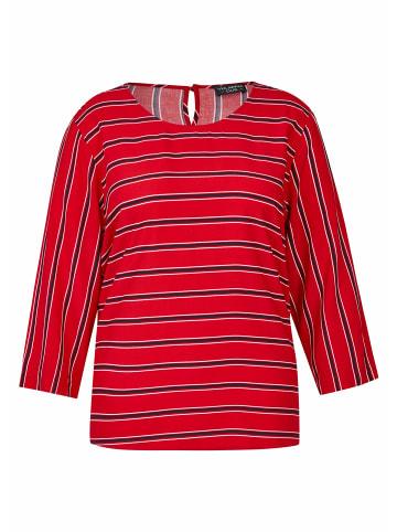 VIA APPIA Gemusterte Hemden in rot