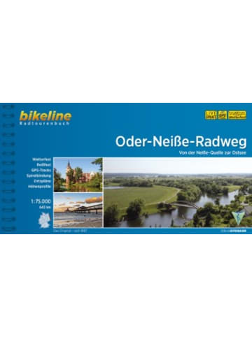 Esterbauer Bikeline Radtourenbuch Oder-Neiße-Radweg