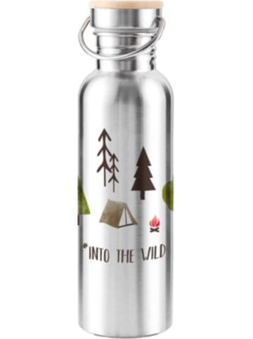 """Ppd Edelstahl Isolierflasche """"Into the wild"""", 750 ml"""