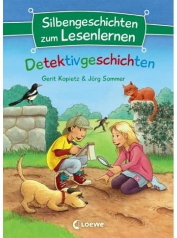 Loewe Verlag Silbengeschichten zum Lesenlernen - Detektivgeschichten