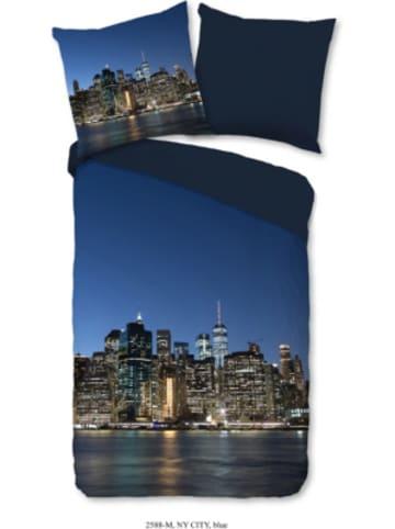 "Pure Wendebettwäsche ""NY City"" 135x200 cm"