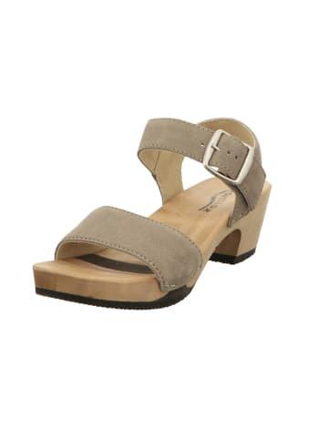 SOFTCLOX Sandalen/Sandaletten in hell-grau