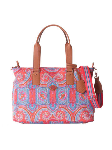 Oilily Schultertasche 36 cm in hot coral
