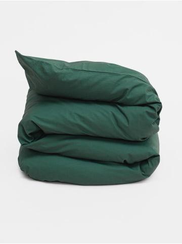 Erlich Textil  Bettdeckenbezug Finn in waldgrün