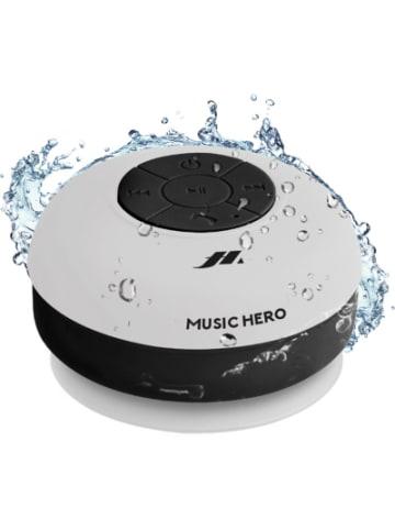 Sbs Lautsprecher Mono Wireless Music Hero mit Saugnapf, Farbe weiß