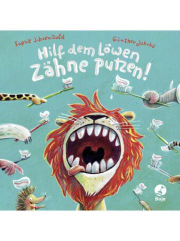 Boje Verlag Hilf dem Löwen Zähne putzen!
