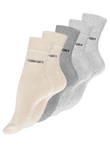 VCA® Damen Socken 10 Paar in Beigetöne