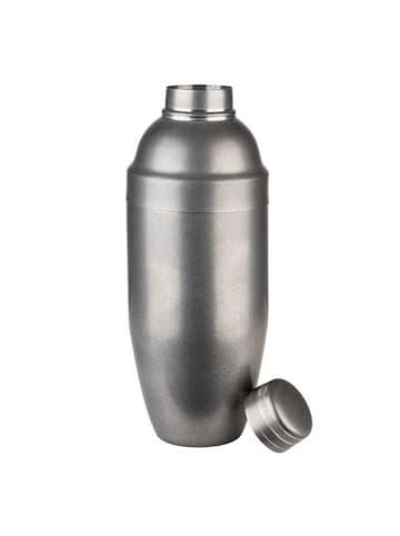 "APS Shaker ""CLASSIC"" in Silber Ø 9 cm, H: 23 cm, 0,7 Liter"