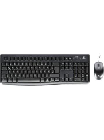 Logitech Logitech MK 120 corded Desktop USB Keyboard + Mouse
