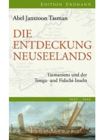 Edition Erdmann Die Entdeckung Neuseelands | Tasmaniens und der Tonga- und Fidschi-Inseln