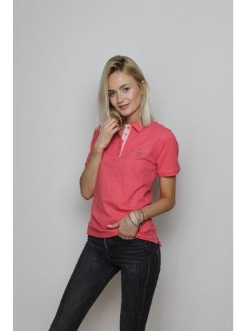 U.S. Polo Assn. Damen Poloshirt Basic in APRICOT