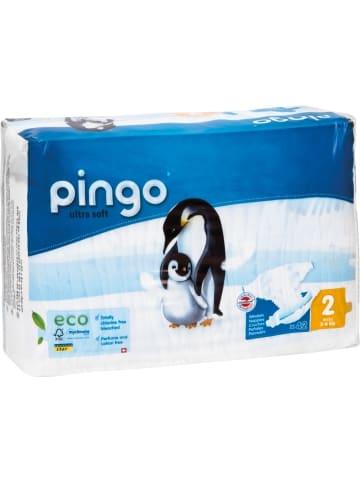 "Pingo BIO Windeln ""ultra soft"" MINI Gr. 2 (3-6 kg) 42 Stück"