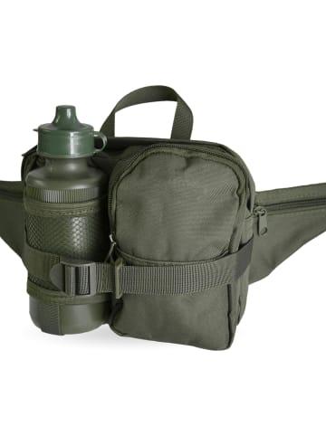 Normani Hüfttasche mit Trinkflasche 500 ml in Oliv