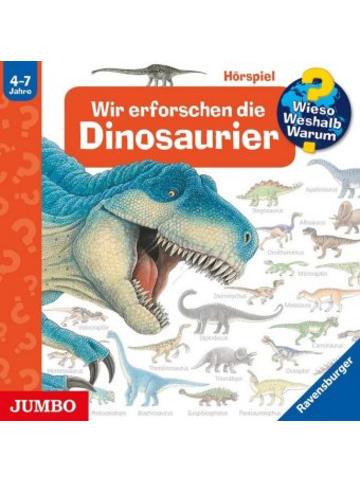 Jumbo Wir erforschen die Dinosaurier, 1 Audio-CD
