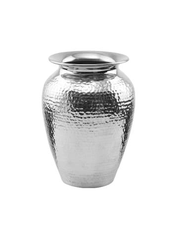 Butlers Vase Höhe 21 cm ORIENTAL LOUNGE in silber