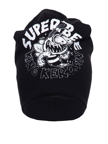 King Kerosin King Kerosin KING KEROSIN Stoffmütze mit coolem Print Super Bee in schwarz