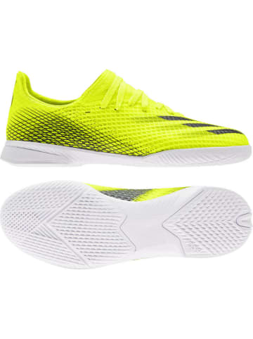 Adidas neo Fußballschuh X GHOSTED.3 IN in Gelb