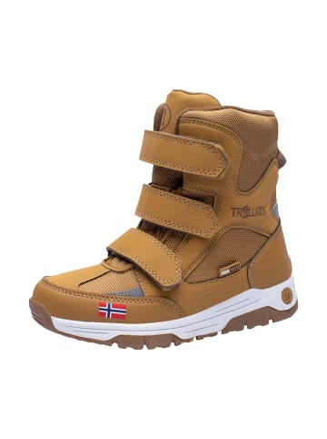 """Trollkids Winter Schuhe """"Lofoten"""" in Bronze"""