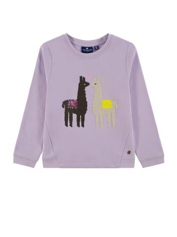 TOM TAILOR kids Sweatshirt mit Wendepailletten in pastel lilac