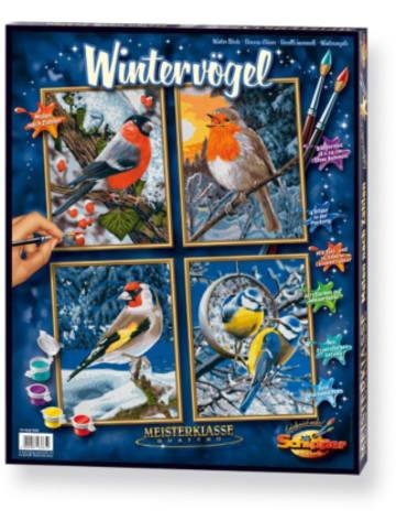 Schipper Malen nach Zahlen - Wintervögel Quattro