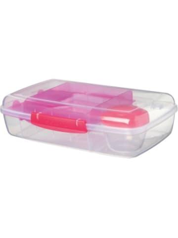 Sistema LUNCH Brotdose Bento Box, inkl. Joghurt-Dose, pink