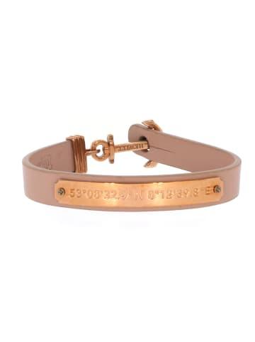 """Paul Hewitt Armband """"Gravur Signum PH-FSC-R-N"""" in beige und gold"""