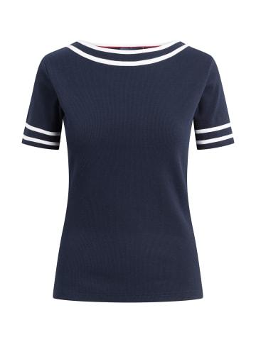 Sea Ranch Kurzarm T-shirt Thea in marineblau