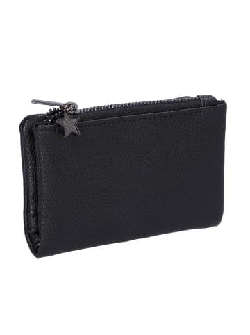 Six Portemonnaie in schwarz