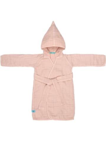 Lässig Bademantel, light pink, 98/104