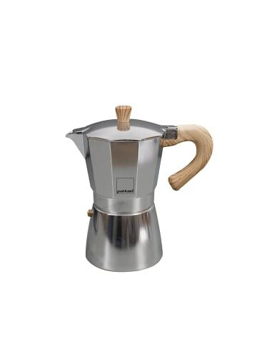 Gnali&Zani Espressokocher Venezia in alu - 6 Tassen