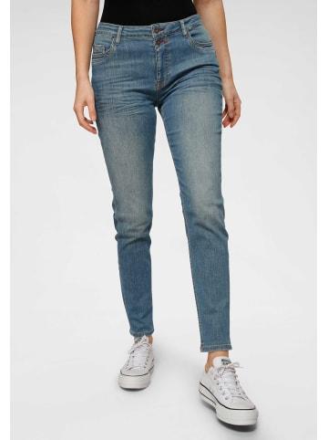 Blue Fire Jeans in blau