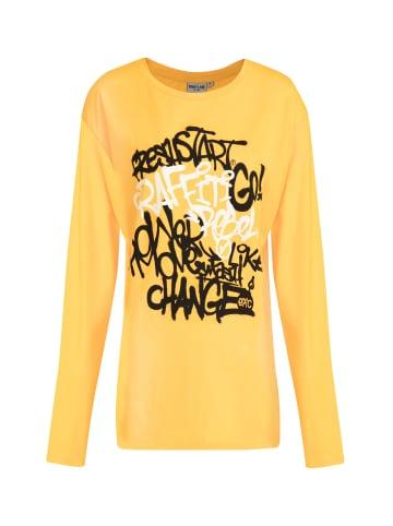 Finn Flare Langarmshirt in yellow