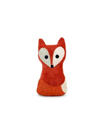 Designed By Lotte Hundespielzeug Plüsch Textil Fuchs 25,5 cm, orange