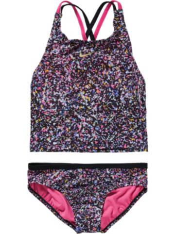 NIKE swim Kinder Bikini PIXEL PARTY