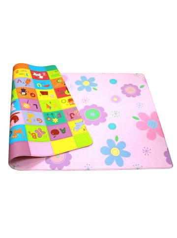 """Dwinguler Spielmatte """"Flower Garden"""" in Bunt - (L) 230 x (B) 140 cm x (H) 15 mm"""